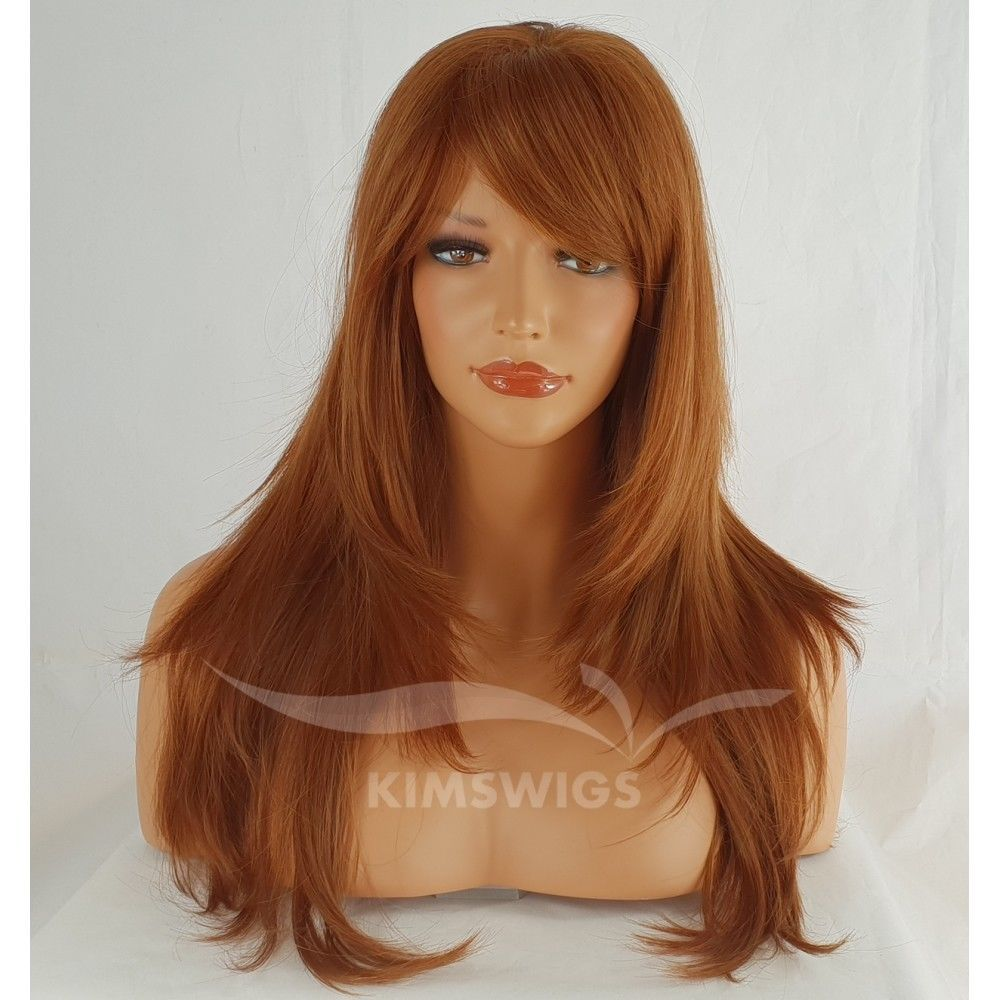 ABI: GINGER MIX HEAT RESISTANT WIG