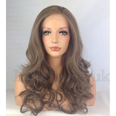 CHELSEA: MEDIUM BROWN  LACE FRONT WIG KW31
