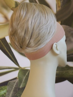 "TWO TONE BLONDE ""BEEHIVE"" BUN HAIR"